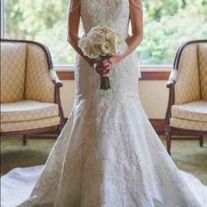 Wedding dress worn once